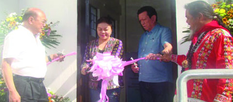 Blessing of INREMP Office Jumpstarts Project Launch