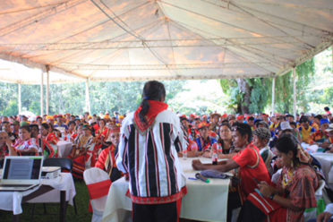 Deliberations and consultations among Bukidnon's 7 Indigenous Tribes.